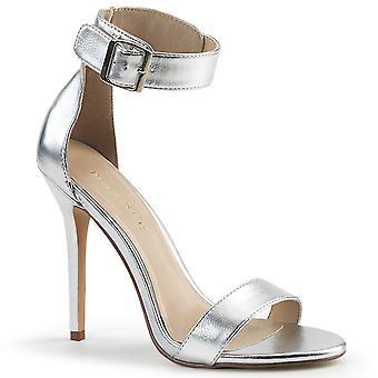 Pleaser Damen's Schuhe AMUSE-10 Slv Met. Pu