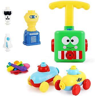 Balloon Powered Car Balloon Launcher Toy,Luftballons Auto Spielzeug Mit 16 Stück