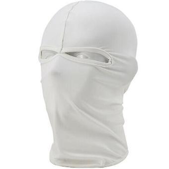 (White) Balaclava Helmet Winter Sas Style Army Windproof Neck Warm Full Face Mask