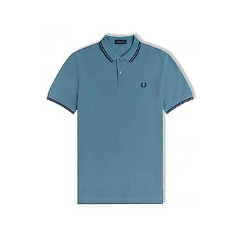 Fred Perry Twin Tipped Poolopaita (Ash Blue)
