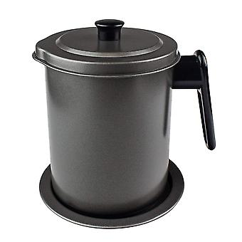 Jug for Frying Oil with Sieve