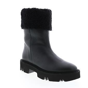 Aquatalia Adult Womens Heidy Tum Calf Shearling Casual Dress Boots