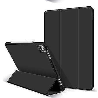 Protective Case For iPad Pro 12.9inch Case With Pencil Holder(Black)