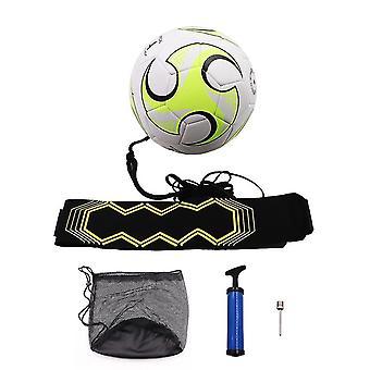 fotball trening kick back ball med belte tau