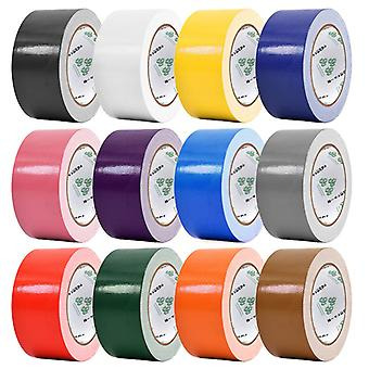 Single-sided Colorful Waterproof Wear-resistant Cloth Tape 45mm*10m Household Strong No Trace Of High Viscosity Carpet Tape