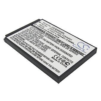 Battery for Creative Zen Micro Photo 4GB 5/6GB BA20603R69900 CZMAB01 DAA-BA0005