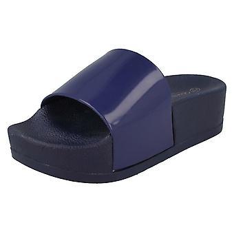 Ladies Spot On Open Toe Sandals