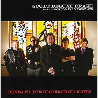 Scott Drake & the World's Strongest Man - Beneath the Bloodshot Lights EP [CD] USA import