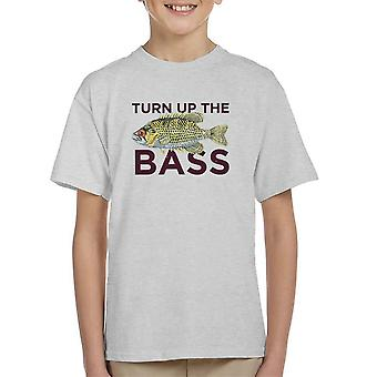 Turn Up The Bass Kid's T-Shirt