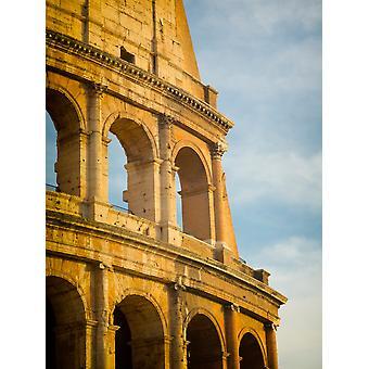 Rom Italien äußere des Colosseum Poster Print von Panorama-Aufnahmen
