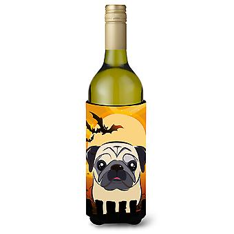 هالوين الصلصال تزلف زجاجة النبيذ المشروبات عازل نعالها