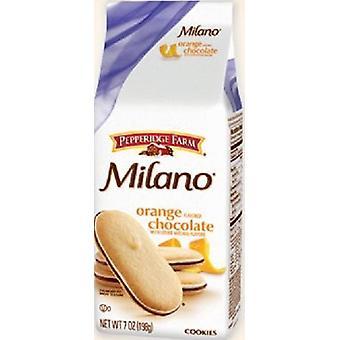 Pepperidge Farm Milano Orange Chocolate Cookies 2 Bag Pack