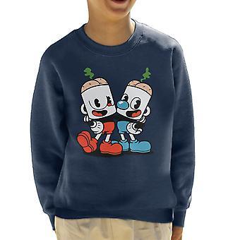 Cuphead Butthead Kinder Sweatshirt