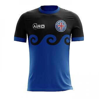 2020-2021 Island tredje konsept fotball skjorte - voksen langermet