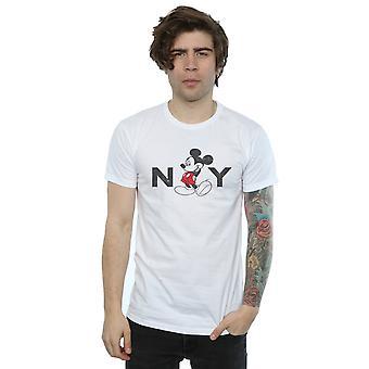 Disney Herren Mickey Mouse NY T-Shirt