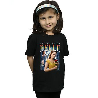 Disney Girls Beauty And The Beast Belle Montage T-Shirt