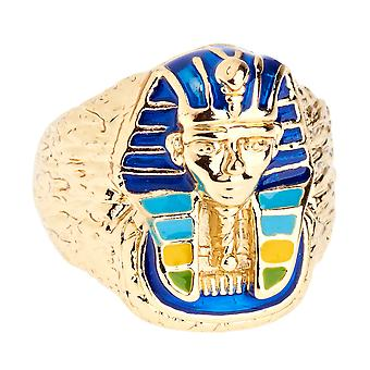 Iced Out Bling Hip Hop Designer Ring - PHARAOH gold