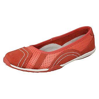 Dames down to Earth platte Ballerina schoenen F8991