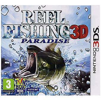 Reel Fishing Paradise 3D (Nintendo 3DS)-nieuw