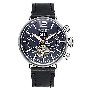 Ingersoll men's watch wristwatch automatic Nakota IN1230BL