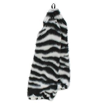 Handstulpen Handschuhe  Zebra