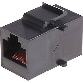 Conector RJ45-coupling, incorporado MH3101-8821 Conectores Mh negros 2101-0115-01 1 1 ud(s)