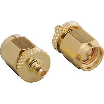 BKL Electronic 0416512 MMBX adapter MMCX plug - SMA plug 1 pc(s)