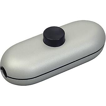 interBär Pull switch Titanium, Black 1 x Off/On 2 A 1 pc(s)