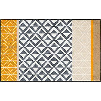 laver + sécher mat Alvar 75 x tapis de poussière lavable 120 cm