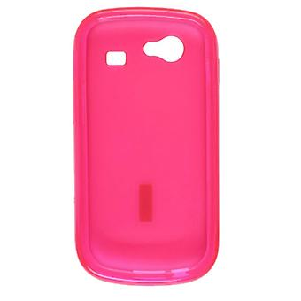 Wireless Solutions Dura-Gel Case for Samsung Nexus S 4G SPH-D720 - Dark Pink