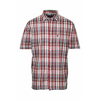 Mestari miesten Beverley rento lyhythihainen paita (kpl pakkaus 2)
