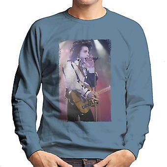 Prins naakt Tour 1991 uitvoeren met gitaar mannen Sweatshirt