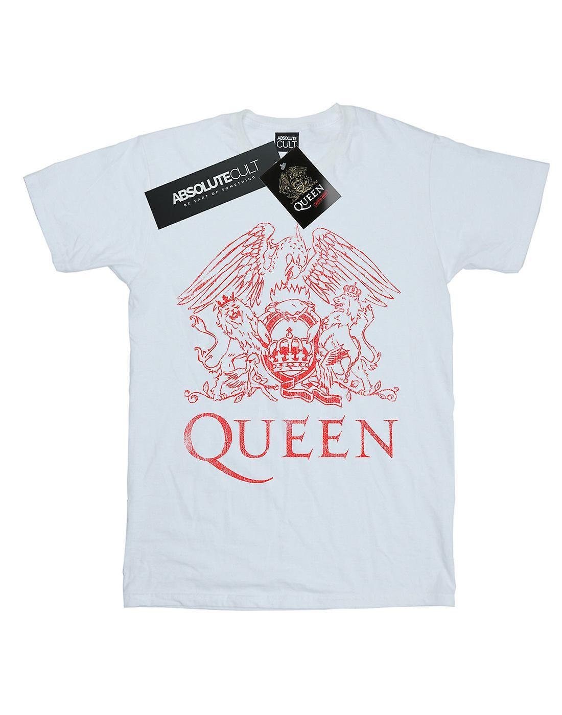 Queen Boys Distressed Crest T-Shirt