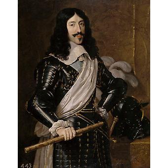 Louis XIII of France, Philippe de Champaigne, 50x40cm