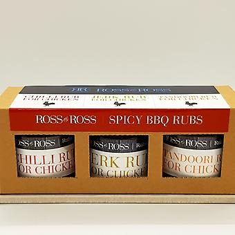 Trio BBQ Rubs Spicy