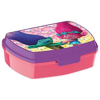 Trolls Lunchbox pink/purple