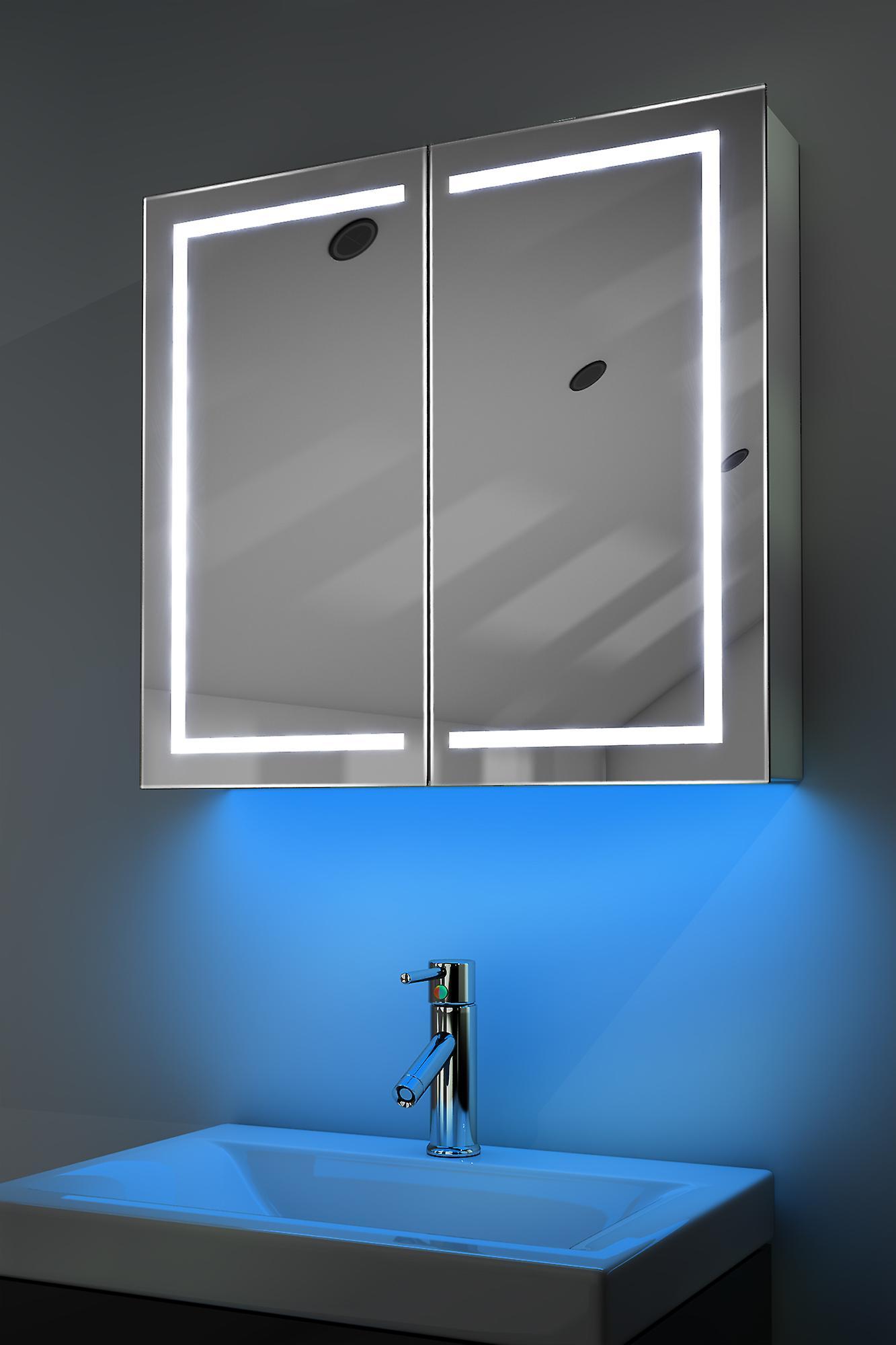 Demist Cabinet With RGB , Sensor & Internal Shaver k362rgb