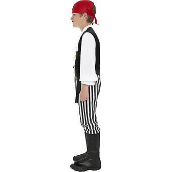 Costume da pirata, ragazzi medio 6-8 anni