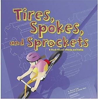 Renkaat, pinnat ja rattaat: kirjan pyöriä ja akseleita