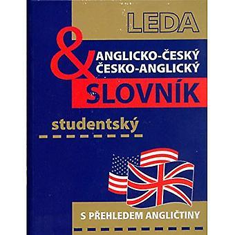 Student Engels-Tsjechisch en Tsjechisch-Engels woordenboek