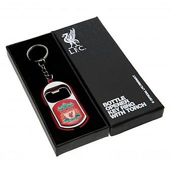Liverpool Key Ring Torch Bottle Opener