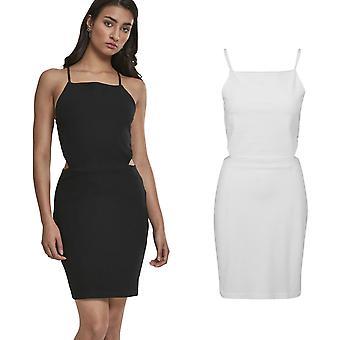 Urban classics ladies - pique spaghetti summer dress