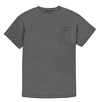 Pierre Cardin Mens ExtraLarge yhden tasku T-paita Crew Neck tee Top lyhyt