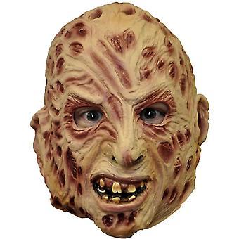 Vinil de Freddy máscara 3/4 para adultos