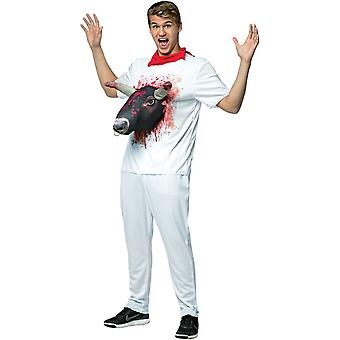 Bull Attacks Adult Costume