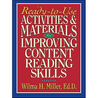 Improving Content Reading Skills by Miller