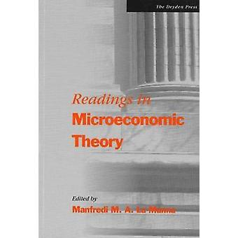 Readings in Microeconomic Theory by La Manna & Manfredi