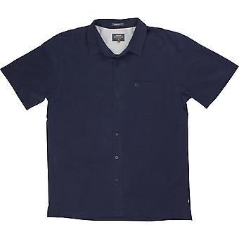 Quiksilver Herren Waterman Kollektion klare Tage 4 SS Shirt - Navy Blazer