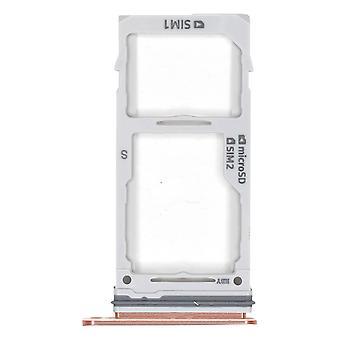 Genuine Samsung Galaxy S9+ Hybrid - SIM Card Tray - Gold - GH98-42575E