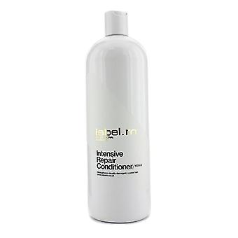 Label.m Intensive Repair Conditioner (strengthens Visually Damaged Coarse Hair) - 1000ml/33.8oz